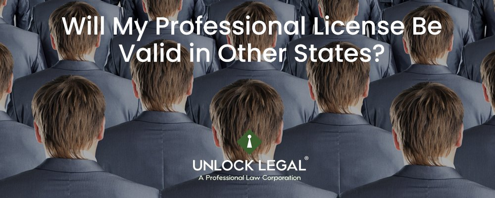 Will My Professional License Be Valid in Other States?
