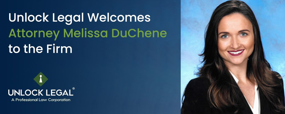 Unlock Legal Welcomes Attorney Melissa DuChene to the Firm