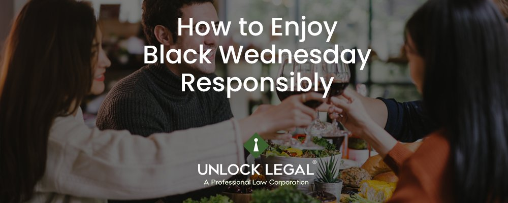 How to Enjoy Black Wednesday Responsibly