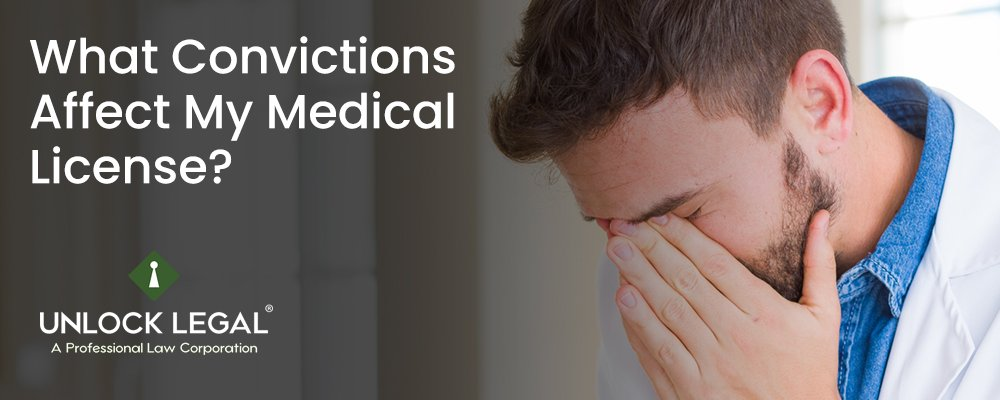 What Convictions Affect My Medical License?