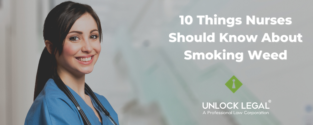 10 Things Nurses Should Know About Smoking Weed