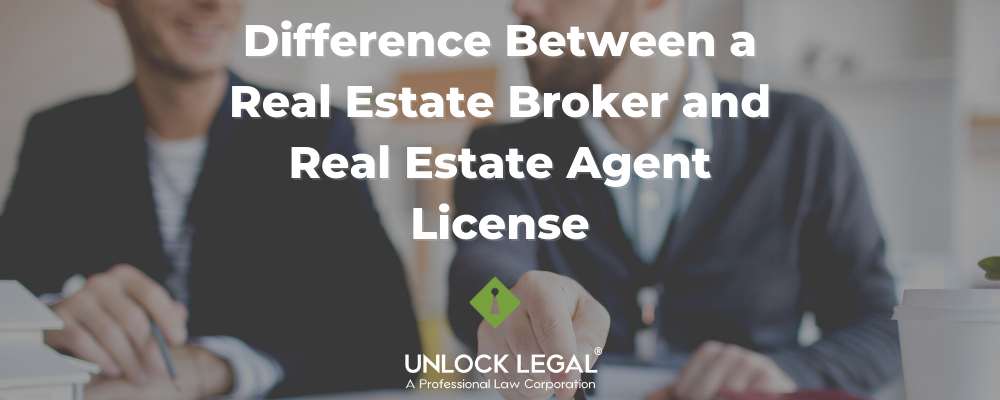 What is the Difference Between a Real Estate Broker and Real Estate Agents License